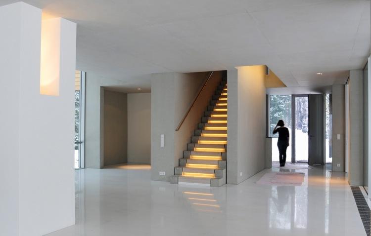 Treppen architektur einfamilienhaus  Haus K - muenchenarchitektur