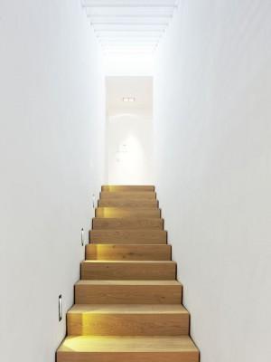 Einfamilienhaus in niedrigenergiebauweise muenchenarchitektur - Treppenhaus einfamilienhaus ...