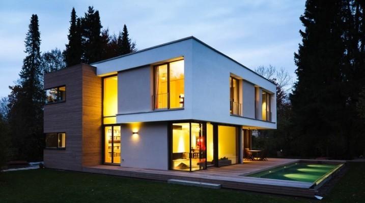 gestaltung treppenhaus einfamilienhaus alles ber wohndesign und m belideen. Black Bedroom Furniture Sets. Home Design Ideas