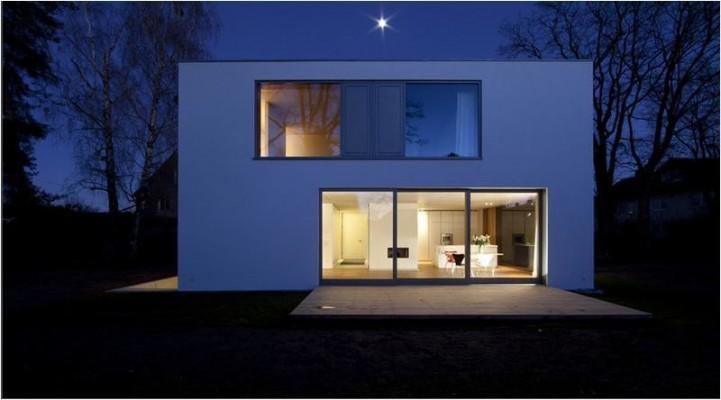 r8 einfamilienhaus im garten muenchenarchitektur. Black Bedroom Furniture Sets. Home Design Ideas