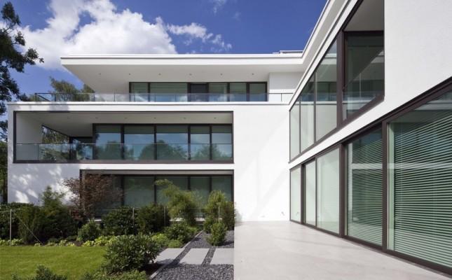 Terrassenhaus in der Osterwaldstrasse - muenchenarchitektur