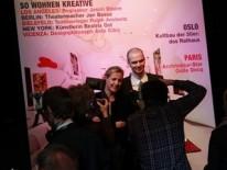 1. A&W Designer des Jahres Patricia Urquiola und Nachwuchsdesigner Benjamin Hubert