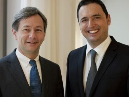 Christoph Lemp und Jürgen Schorn