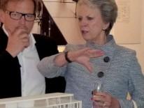Königliche Hoheit, Prinzessin Benedikte von Dänemark und Design Direktor Louis Becker