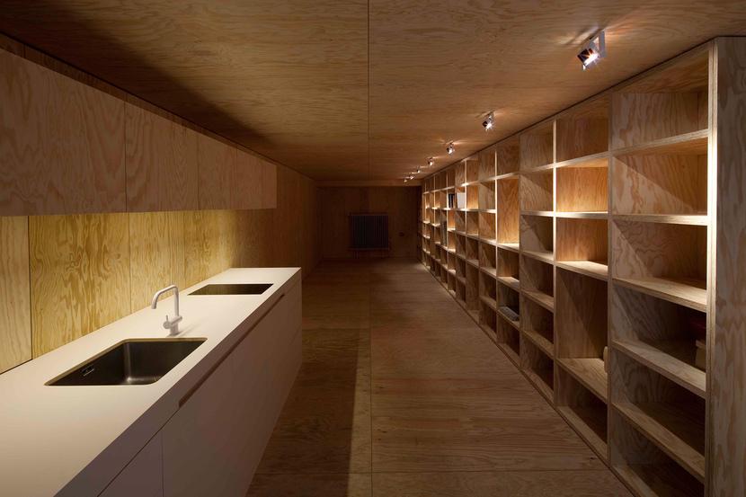 ein holzrausch in der innenstadt muenchenarchitektur. Black Bedroom Furniture Sets. Home Design Ideas
