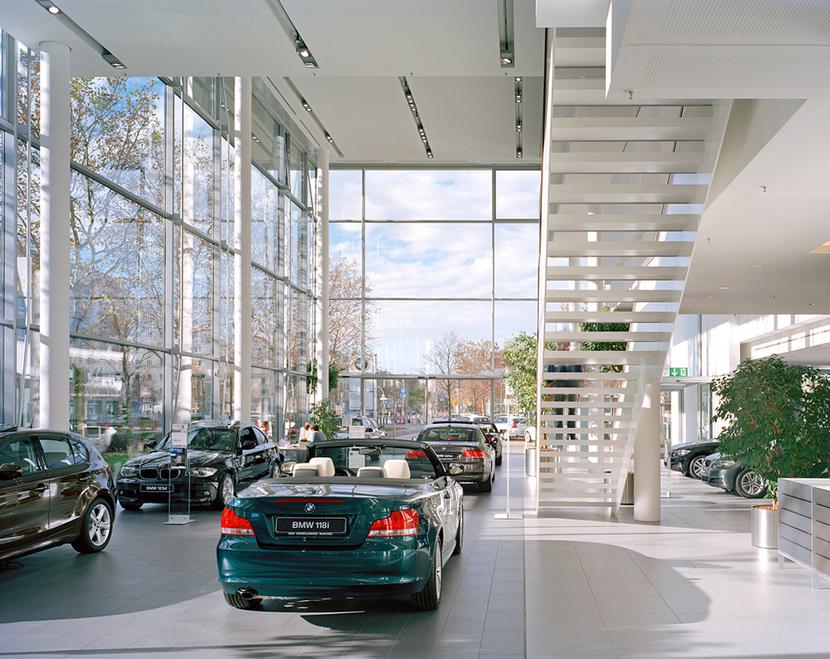 Bmw Niederlassung München Frankfurter Ring Muenchenarchitektur