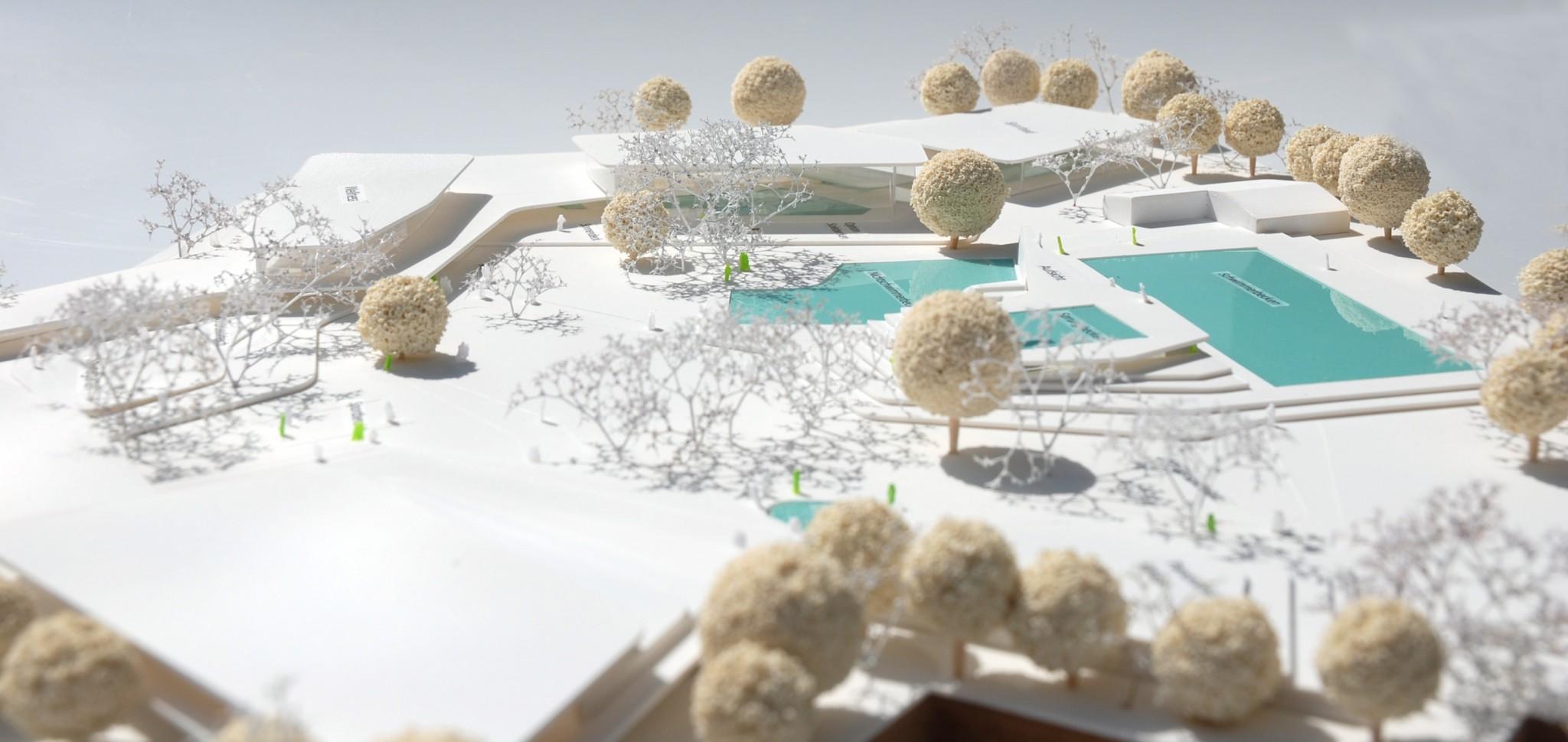 Sport und freizeitbad freising muenchenarchitektur - Behnisch architekten boston ...
