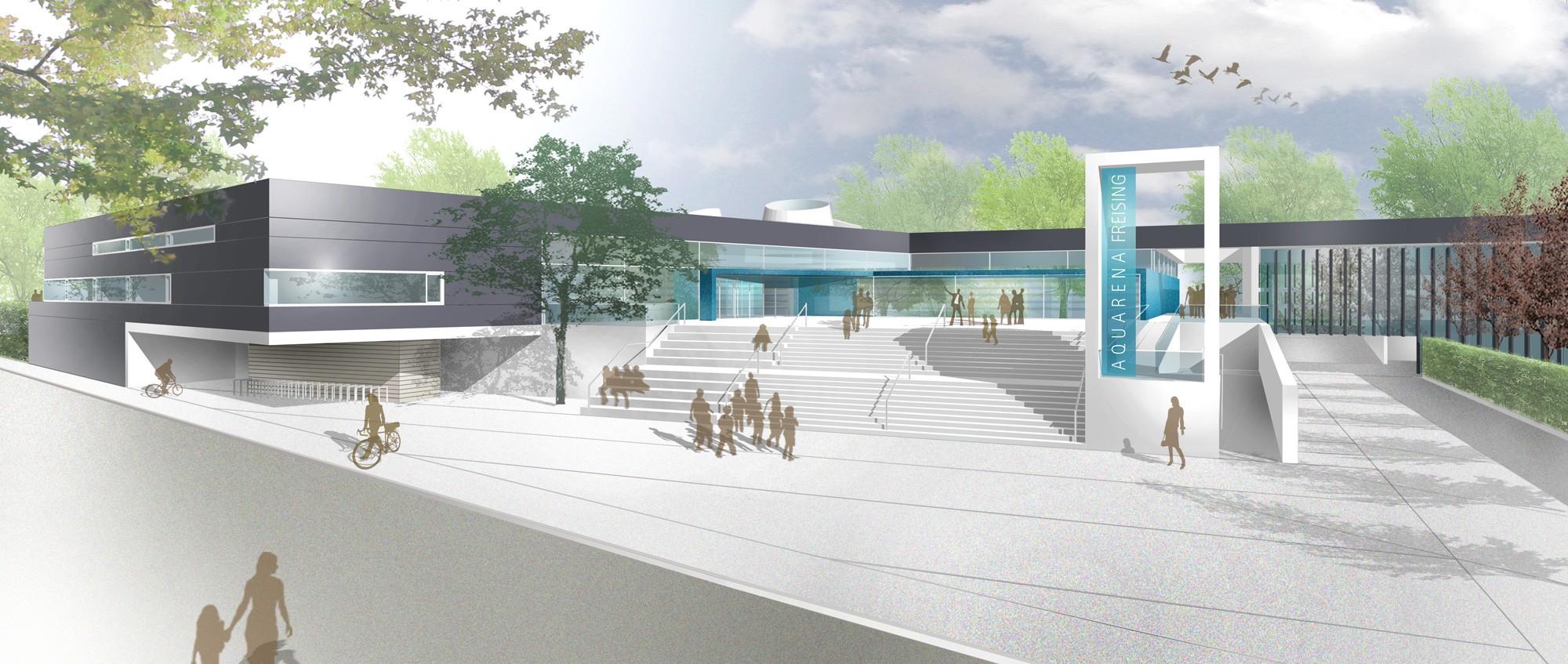 Architekten Heilbronn sport und freizeitbad freising muenchenarchitektur
