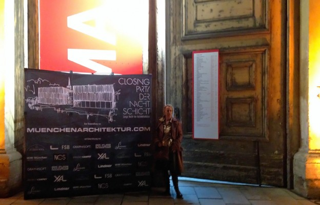Closing Party: Regine Geibel, Inhaberin von muenchenarchitektur