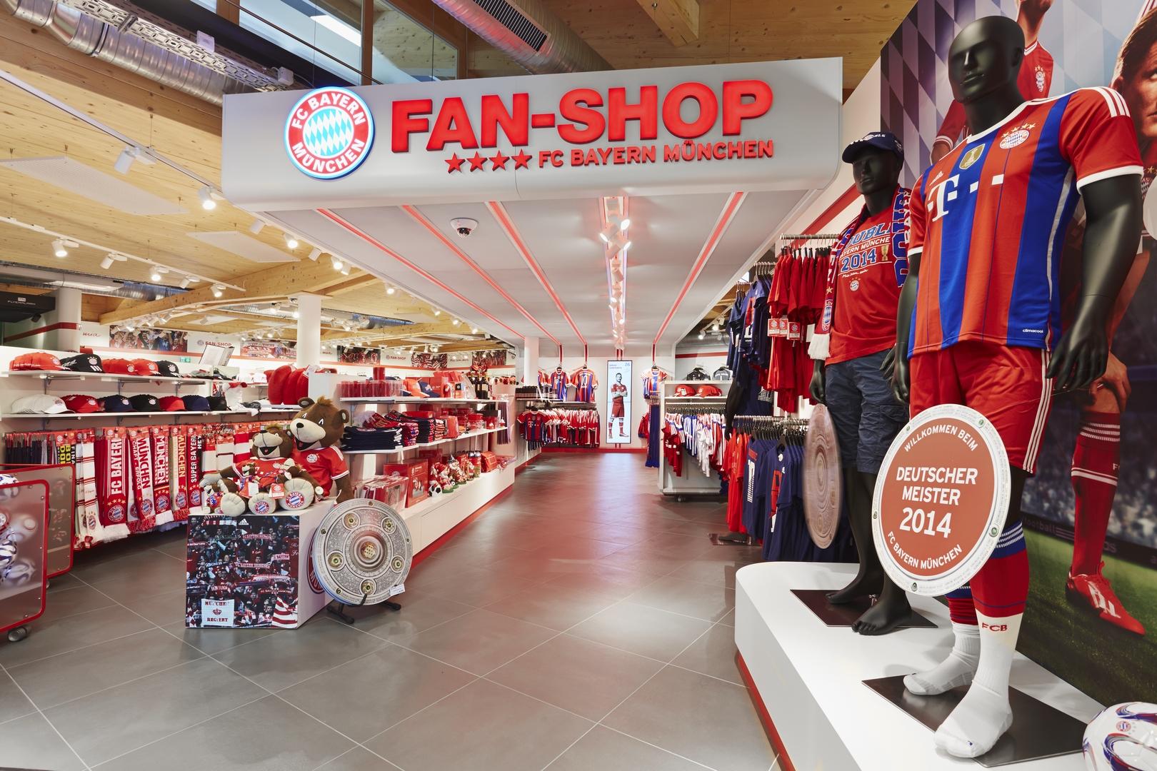 Fc Bayern Fan Shop Amp Tourismuscenter Muenchenarchitektur