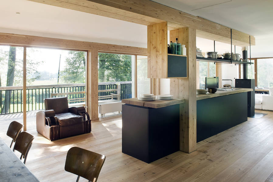 Haus crusoe muenchenarchitektur for Innenarchitektur 60er