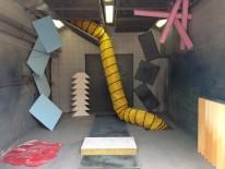Kunstinstallation im Kreativquartier München