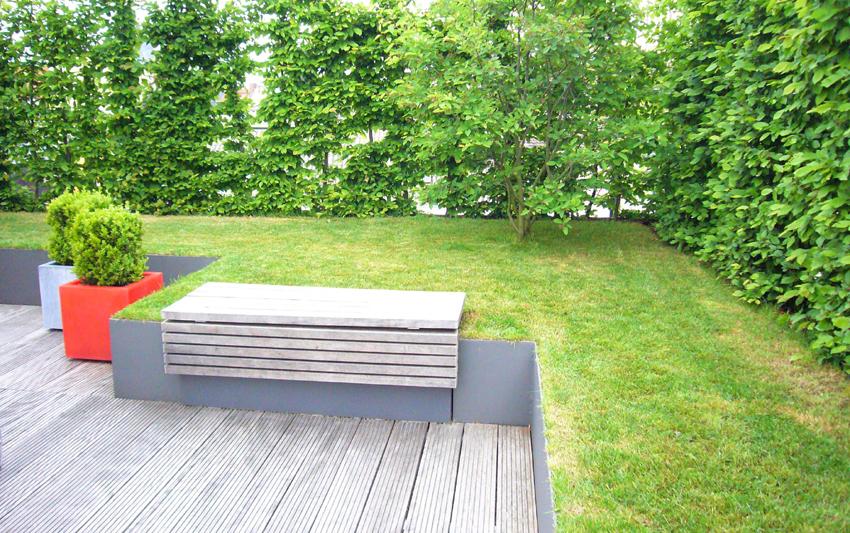 dachterrasse in schwabing muenchenarchitektur. Black Bedroom Furniture Sets. Home Design Ideas