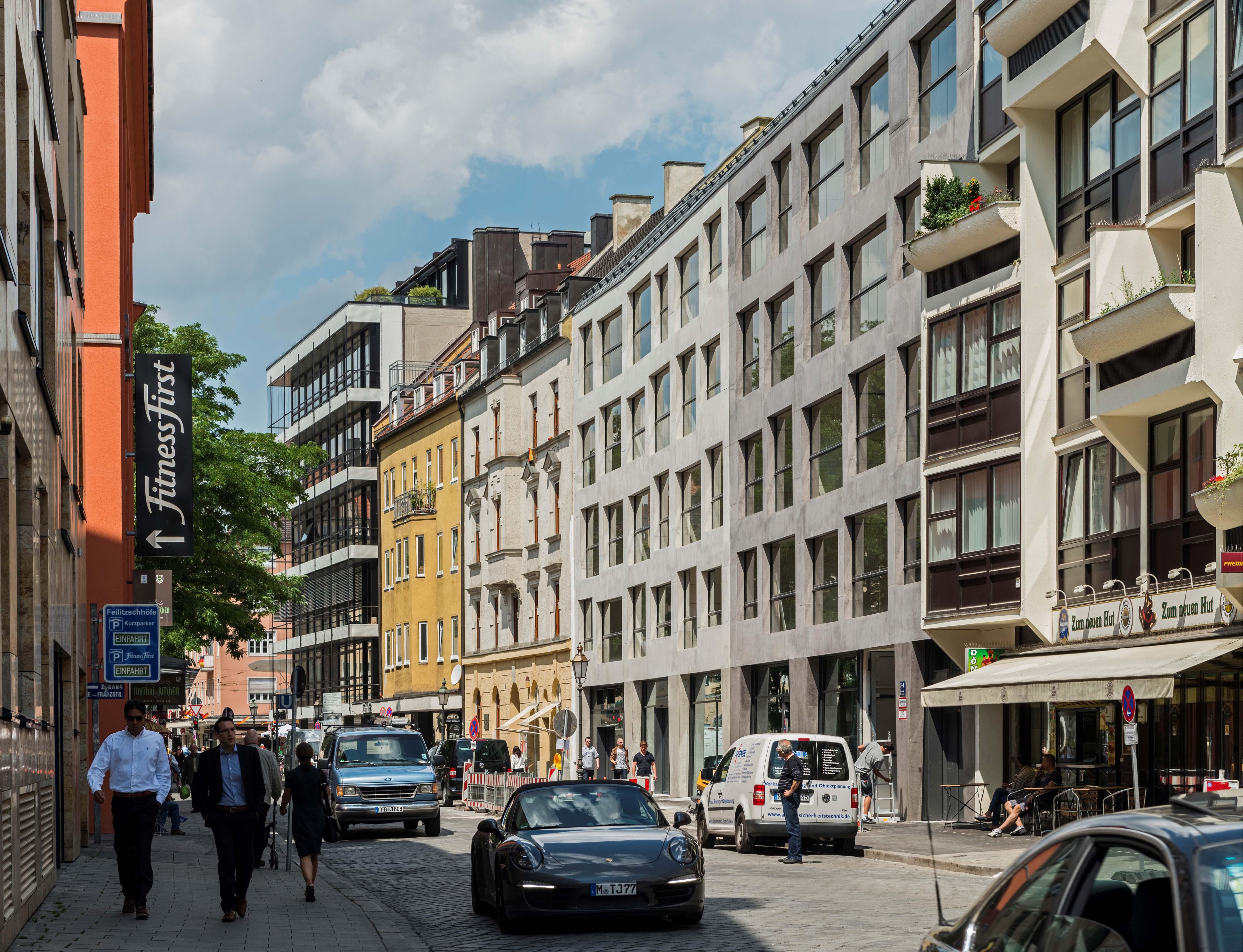 Wohn und gesch ftshaus mona i co muenchenarchitektur for Design hotel schwabing