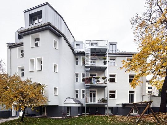 BILD:       Sanierung Wohnanlage München-Schwabing
