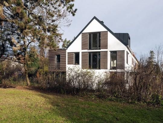 BILD:       Neubau Reihen-Endhaus