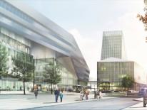 BILD:   Neuer Hauptbahnhof
