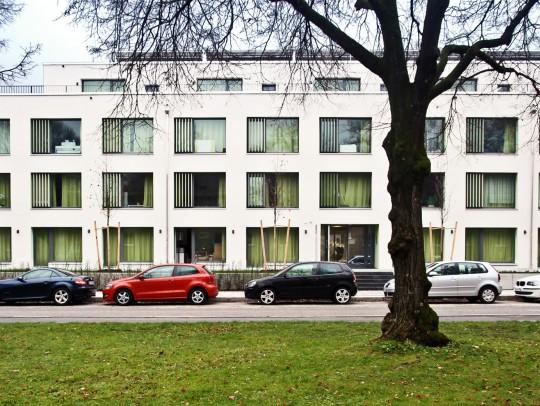 BILD:       Studentenwohnheim Freimann