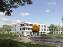 BILD:   Baubeginn für Seniorenresidenz