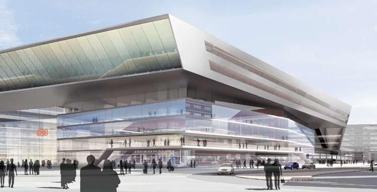 Planung Hauptbahnhof M 252 Nchen Muenchenarchitektur