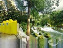 YELLOW SUBMARINE, auf der Schwindinsel nahe der Maximiliansbrücke