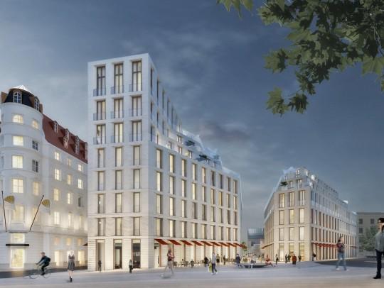 BILD:       Entwurf für die Hildegardstraße