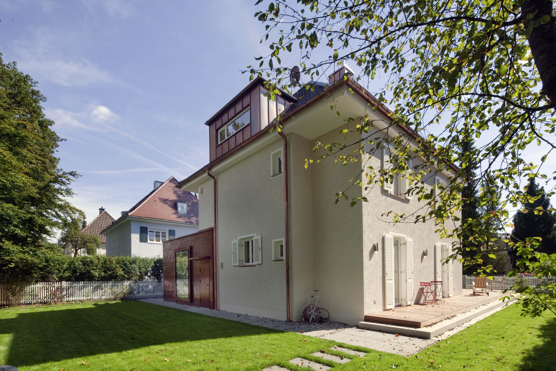 Umbau Siedlungshaus Muenchenarchitektur