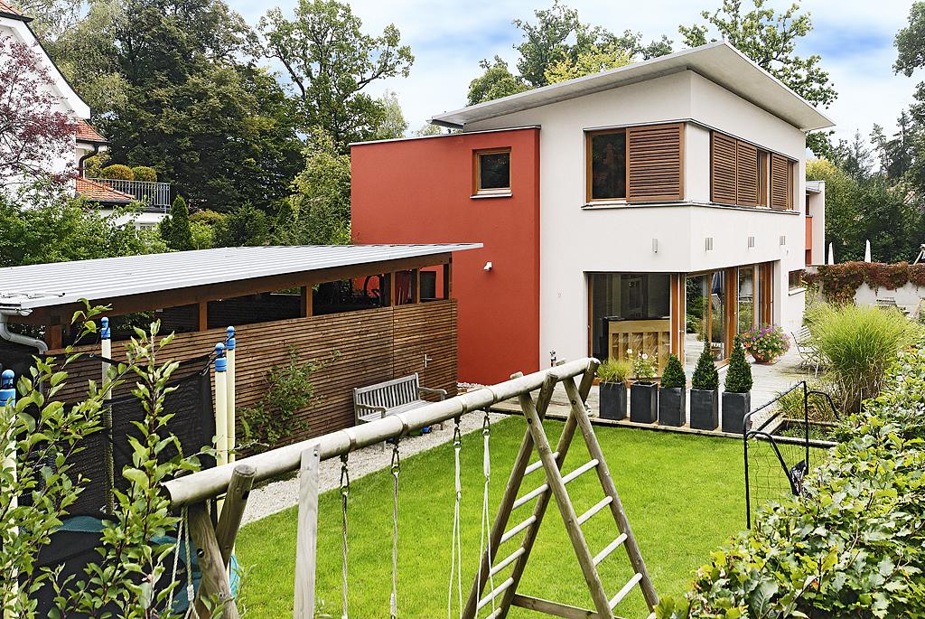 Doppelhaus Doppelt Mal Anders Muenchenarchitektur