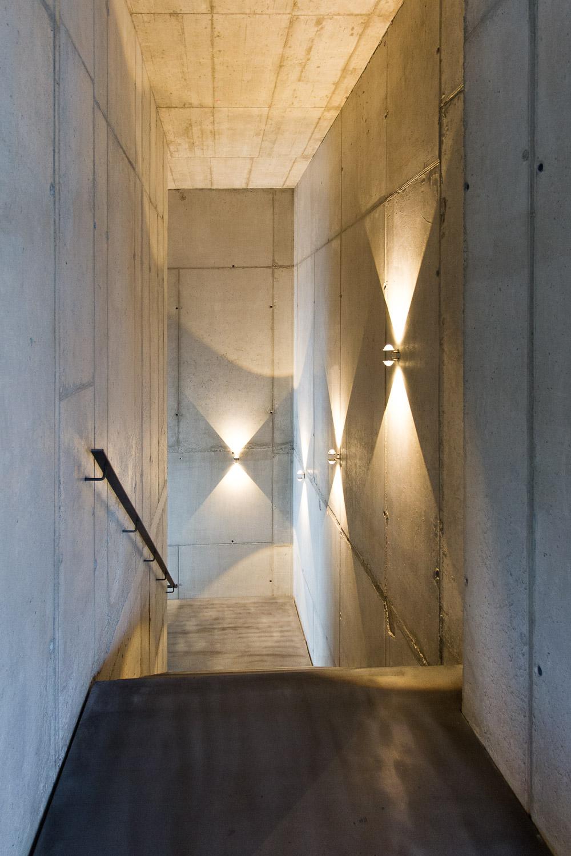 Treppenhaus architektur detail  Neubau eines Ausstellungsgebäudes mit Lagerhalle - muenchenarchitektur