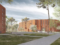 BILD:   Baubeginn in Neuperlach