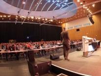 Der bereits  4. Poroton-Mauerwerkskongress findet neben München am 22. Februar auch am 1. März in Ulm statt. - Bild: Schlagmann Poroton