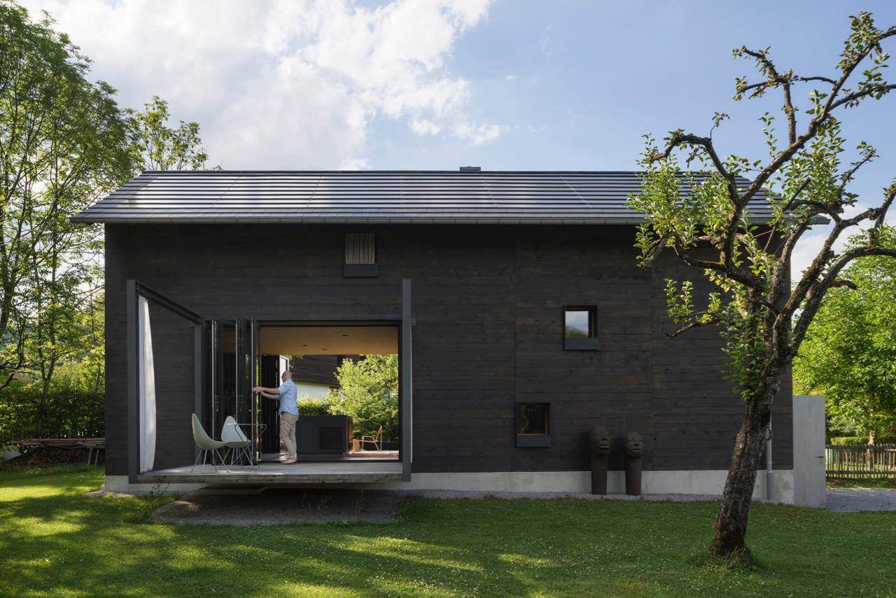 Architektur Ferienhäuser holz ferienhaus am auerbach muenchenarchitektur