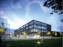BILD:   Neubau Fakultät