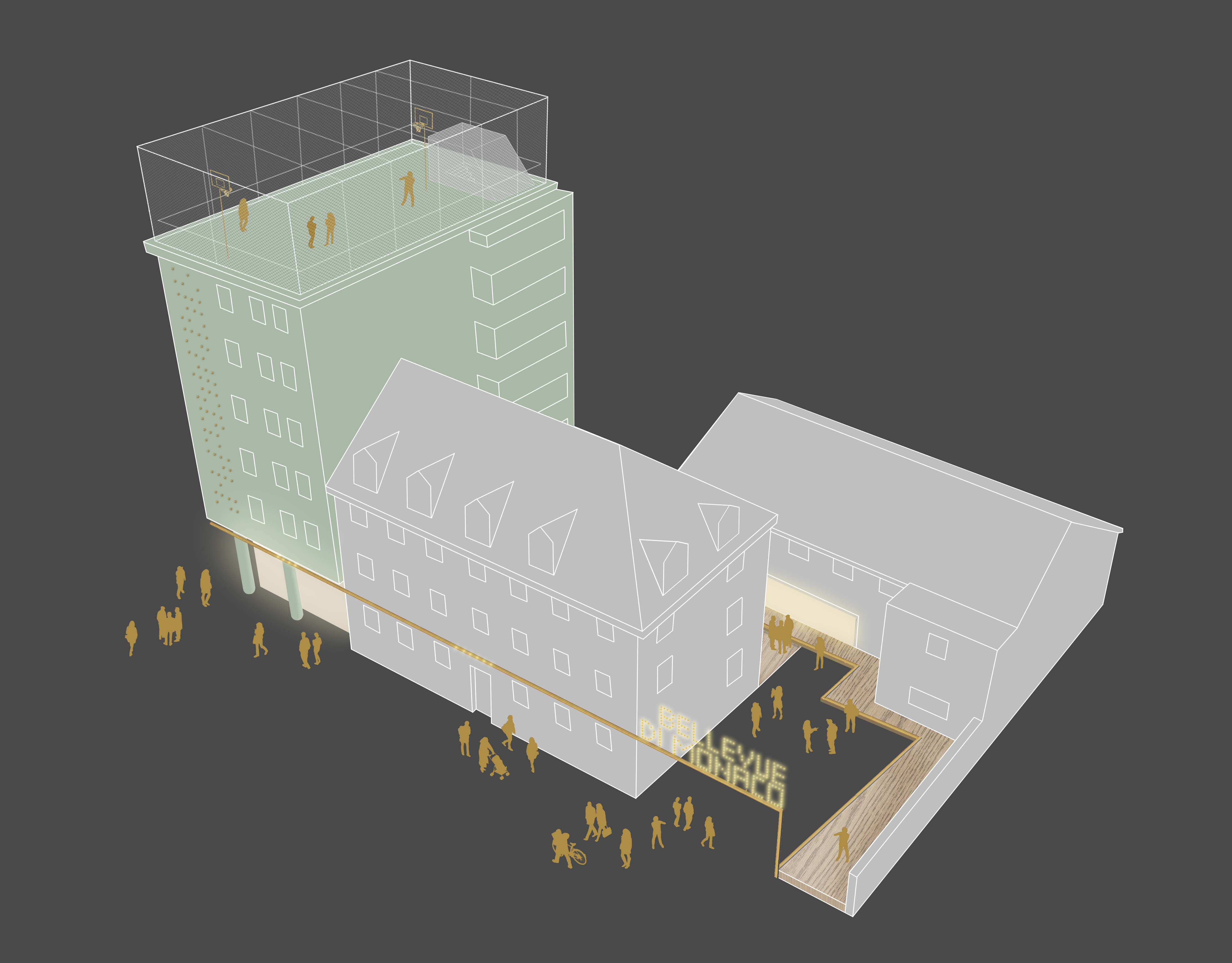 Modellhaftes Leuchtturmprojekt - muenchenarchitektur