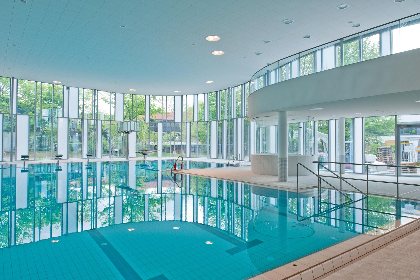 Hallenbad Ismaning - MünchenArchitektur