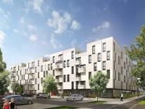 Das Gebäude der GEWOFAG an der Arnulfstraße © wgp Architekten und Stadtplaner