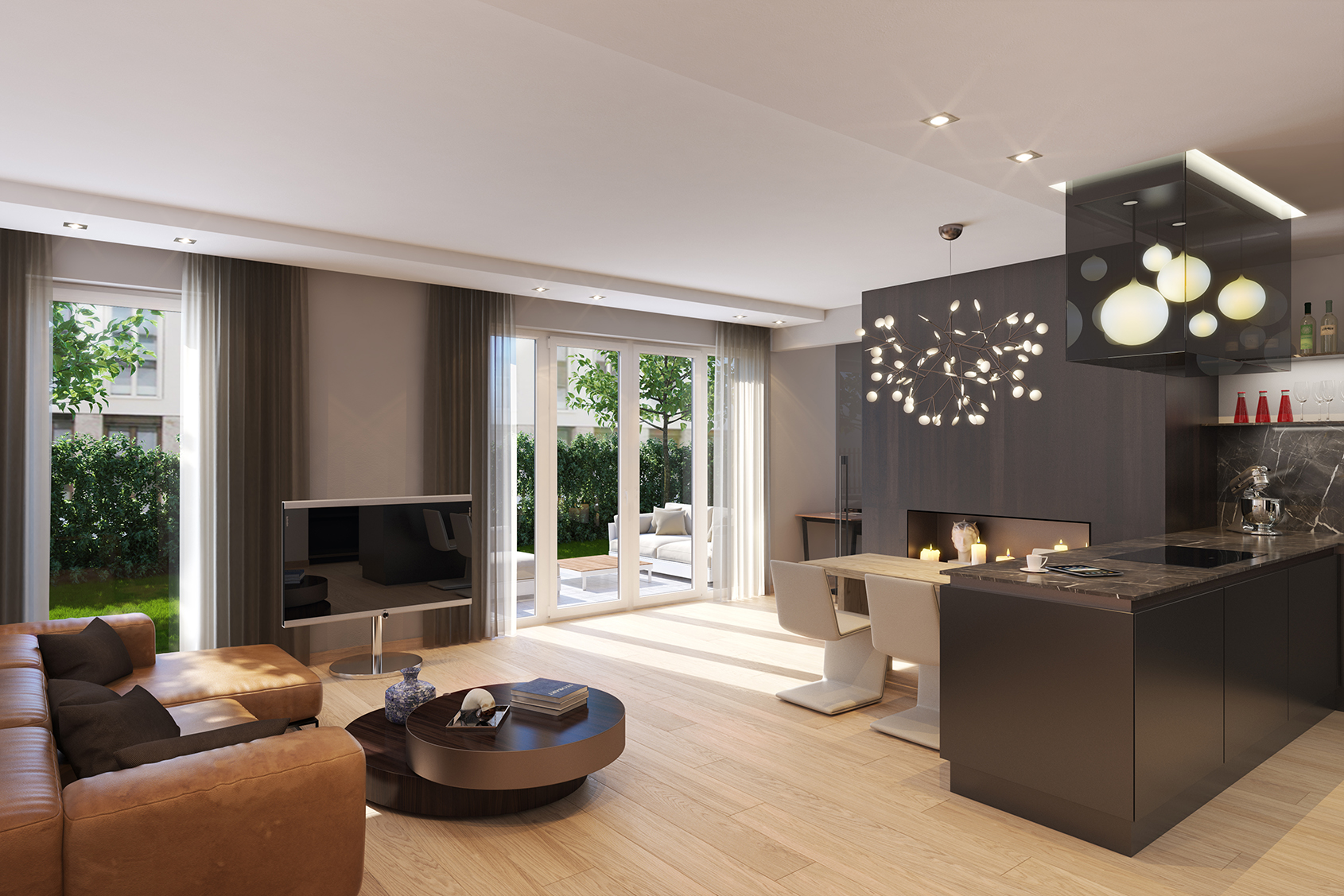ludwig urban living muenchenarchitektur. Black Bedroom Furniture Sets. Home Design Ideas