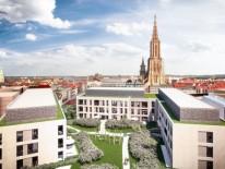 Seldelhöfe in Ulm, Dach-Perspektive; © msm meyer schmitz-morkramer