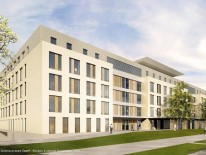 Neue Kinderklinik in Schwabing; Foto: Ludes Generalplaner GmbH