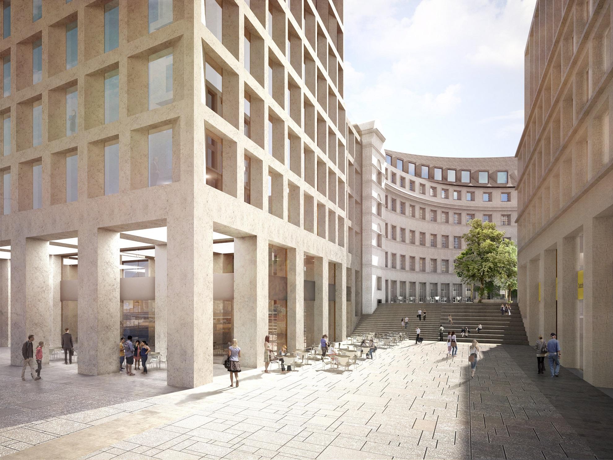 Weiterer hotelzugang muenchenarchitektur - Architekturburo berlin ...