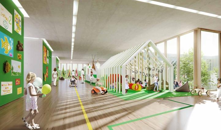 Landschaftsarchitekten München kbo kinderzentrum muenchenarchitektur