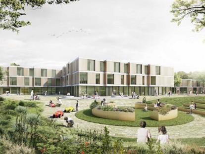 kbo-Kinderzentrum, © ARGE sander.hofrichter architekten GmbH aus Ludwigshafen / H2M Architekten + Ingenieure GmbH, München mit Rainer Schmidt Landschaftsarchitekten, München
