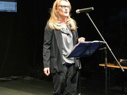 Landesvorsitzenden des Bayern BDA Prof. Lydia Haack. © BDA Bayern