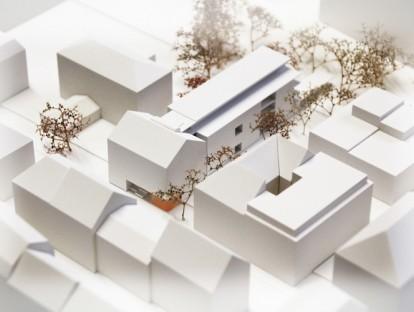 1. Preis: Hetterich Architekten BDA. Modell: Hauck.Modelle Konzept + Realisation