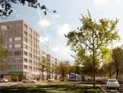 1. Preis, Visualisierung: 03 Architekten GmbH.