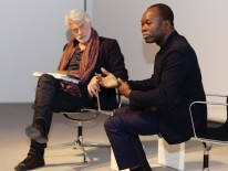 BILD:   Francis Kéré und Chris Dercon