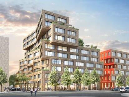 Die Macherei, Visualisierung Hotelplanung HWKN. Foto: Art-Invest/Accumulata Immobilien