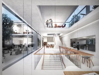 1. Preis: © Glass Kramer Löbbert Architekten / dichterarchitektur