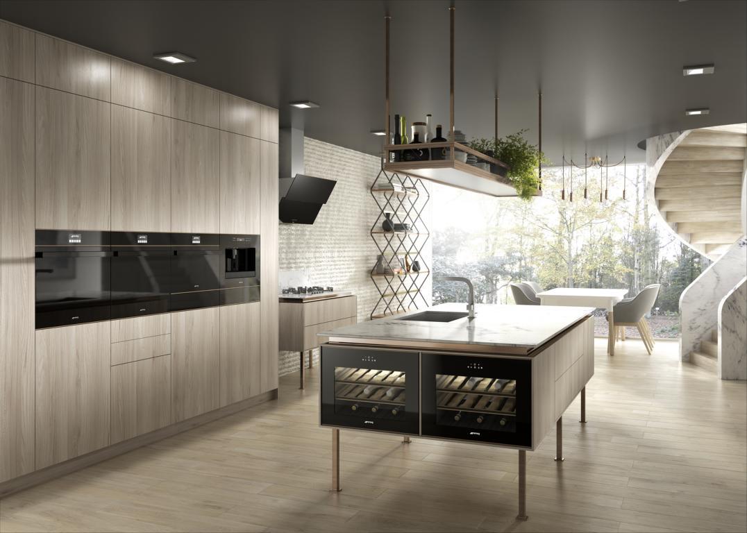 Küchendesign mit Stern - muenchenarchitektur