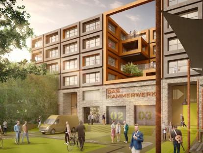 Projekt Hammerwerk in Stuttgart, msm meyer schmitz-morkramer. Foto: bloomimages